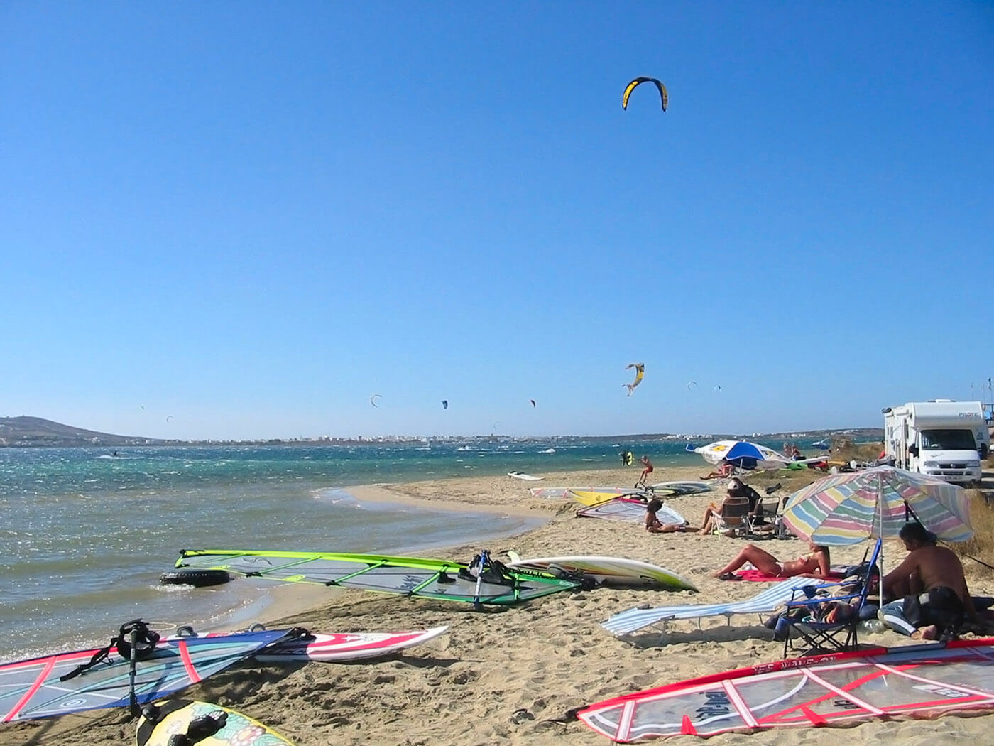 Paros Kite Beach Pounda