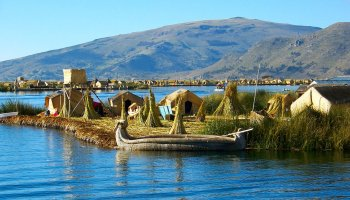 Uros Island – Lake Titicaca